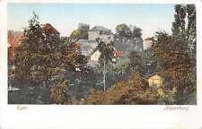 Nuremburg Bavaria Germany view of Kaiserburg Castle from Eger antique pc Z17456