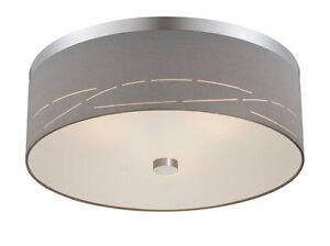 Philips Forecast FE0004836 Silver Laser Ceiling Fixture, Satin Nickel