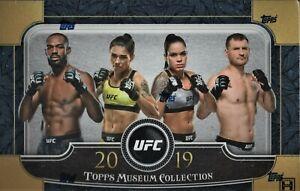 KHABIB NURMAGOMEDOV 2019 TOPPS MUSEUM UFC 12 BOX FULL CASE BREAK AUTO