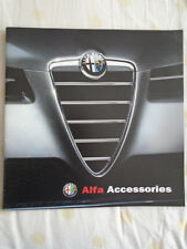 Alfa Romeo Accessories range brochure Apr 2004