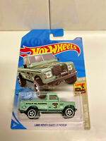 2020 Hot Wheels Baja Blazers 10/10 Land Rover Series III Pickup 3/250 NIP