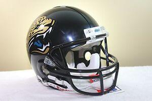 Custom Riddell VSR4 GAME STYLE Football Helmet JACKSONVILLE JAGUARS MARK BRUNELL