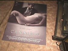 CANNIBAL 2013  ROLL 27X40 ORIG MOVIE POSTER SEXY EROTIC HORROR