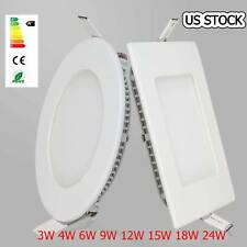 Ultra Slim Dimmable Epistar Recessed LED Panel Light Ceiling Down Lights