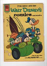 Walt Disney's Comics and Stories #Vol. 21#12 (252) (Sep 1961, Dell) - Good-