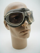 RARE CEBE 4000 French Pilot Aviator 40's GOGGLES Vintage FLIGHT Plane Air Goggle