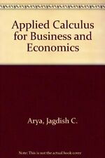 Applied calculus for business and economics