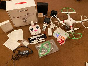 DJI Phantom 3 Standard Quadcopter Camera Drone - FOR PARTS ONLY