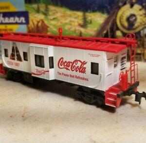 ATHEARN COCA-COLA BAY WINDOW CABOOSE COCX 1886, coke ho scale