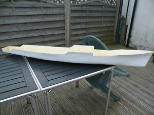 HULL FOR LEANDER STYLE ?  NOT THE BEST QUALITY-STAND OFF SCALE