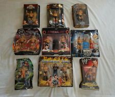 WWE WWF Moc Wrestling Figure Lot of 9 Classic Superstars Adrenaline Mattel