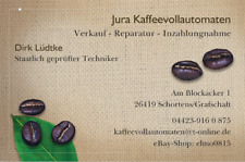 Jura F-Serie Wartung Kaffeevollautomat und weitere Modelle