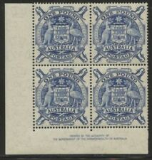 Blue Superb Australian Pre-Decimal Stamps
