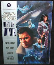 Star Trek Debt of Honor - DC Comics - Chris Claremont & Adam Hughes (VF) 1992