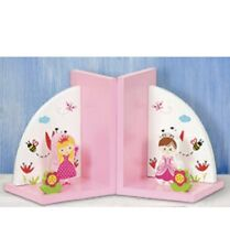 Wooden PRINCESS BOOKENDS for magical story time Fairytale Friends Bookshelf Book