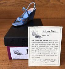 Raine Just the Right Shoe Karner Blue Coa Box 25183