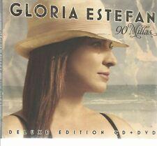 GLORIA ESTEFAN - 90 MILLAS - CD + DVD SONY 2007 - DELUXE EDITION