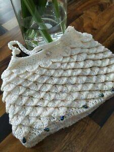 Handbag handmade crochet bridesmaid bag