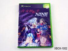Shin Megami Tensei NINE Xbox Japanese Import JP NTSC-J SMT 9 Japan US Seller