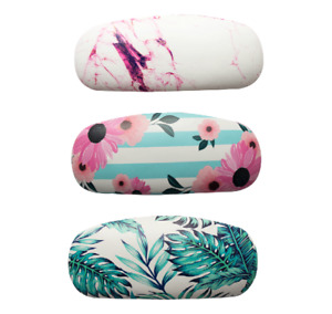 Glasses Case Spectacle Reading Storage Hard Case Stylish Pattern Covered Printed