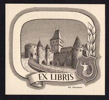 39)Nr.069-EXLIBRIS- Stef. Lukaszewski, C1- Stahlstich