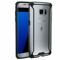 Poetic For Galaxy S7 Edge Clear Case, Lightweight Shockproof Protective Cover
