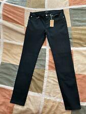 $235 A.P.C. petit new standard black japanese stretch denim jeans 31 men NEW apc