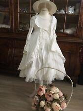 jottum Kleid 116 Rembrandt Serie perlweiß edel für kleine Prinzessinnen