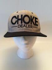 CHOLE DEALER, Jujitsu, Martial Arts, Hat/Cap, #chokedealer, Grey, Snap Back,