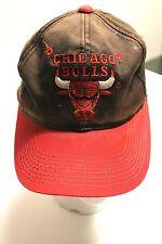 Trucker hat baseball cap Chicago Bulls Retro snap back adjustment