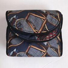 Nicole Miller Vintage Trifold Clutch Wallet Tennis US Open �?4