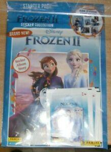 Panini Disney Frozen 2 Sticker Album Story Collection Starter Pack +22 Stickers