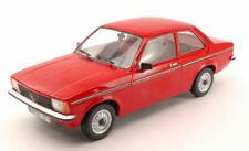 Opel Kadett C2 4 Door 1977 Red 1:18 Model TRIPLE 9