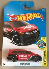 Hot Wheels Honda Odyssey HW Speed Graphics 7/10 (6MB0E) Diecast Toy Red/Black