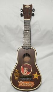 """Rare 2010 Toy Story Woody's Round Up 20"""" 4-String Guitar Collector's Edition"""