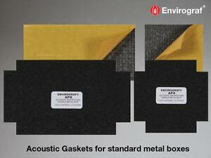 Envirograf Acoustic & Fire Protection for Metal Back Boxes - Fire Stopping