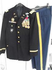 Uniform Colonel Jacke  Blue Dress Top mit Ordensspange 1.Golfkrieg 2nd Inv.Div