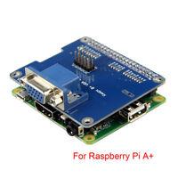 1PCS New VGA Shield V2.0 Expansion Board For Raspberry Pi 3B / 2B / B+ / A+  UK