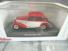 MERCEDES BENZ 170V 170 V Limousine rot weiss red white NEU Schuco 1:43