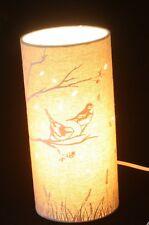 Song Birds Scene table lamp or bedside lamp