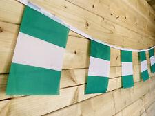 🇳🇬NIGERIA NIGERIAN National Flag Bunting Sport Traditional Event 32 Flag 8m