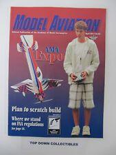 Model Aviation Magazine   April 2011     Matt Stringer, Cover