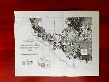 1950 Sketch Map of Mountain Home Project Land Classification Idaho Air Base