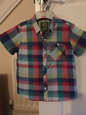 Cotton Blend Checked NEXT Shirts (2-16 Years) for Boys