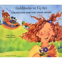 Goldilocks and the Three Bears in Turkish and English by Clynes, Kate, NEW Book,