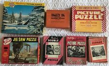 7 Vintage Puzzles (Jiggety Jig, See America First, Tuco...)