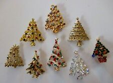Christmas Jewelry Lot-Some Signed-8 Piece-Lot#607
