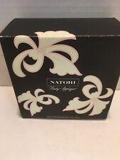 Natori Body Applique Sealed Powder Decorative Container & Box