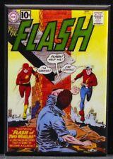 "The Flash #123 Comic Book Cover 2"" X 3"" Fridge / Locker Magnet."