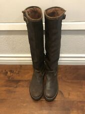 fiorentini & Baker Womens Riding Boots Brown Leather Sz 38 Eu 7.5 US